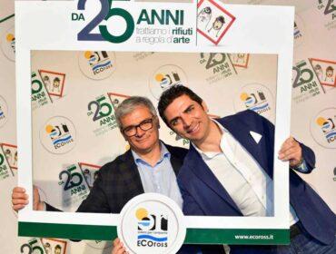 Eugenio Pulignano e Walter Pulignano anniversario Ecoross