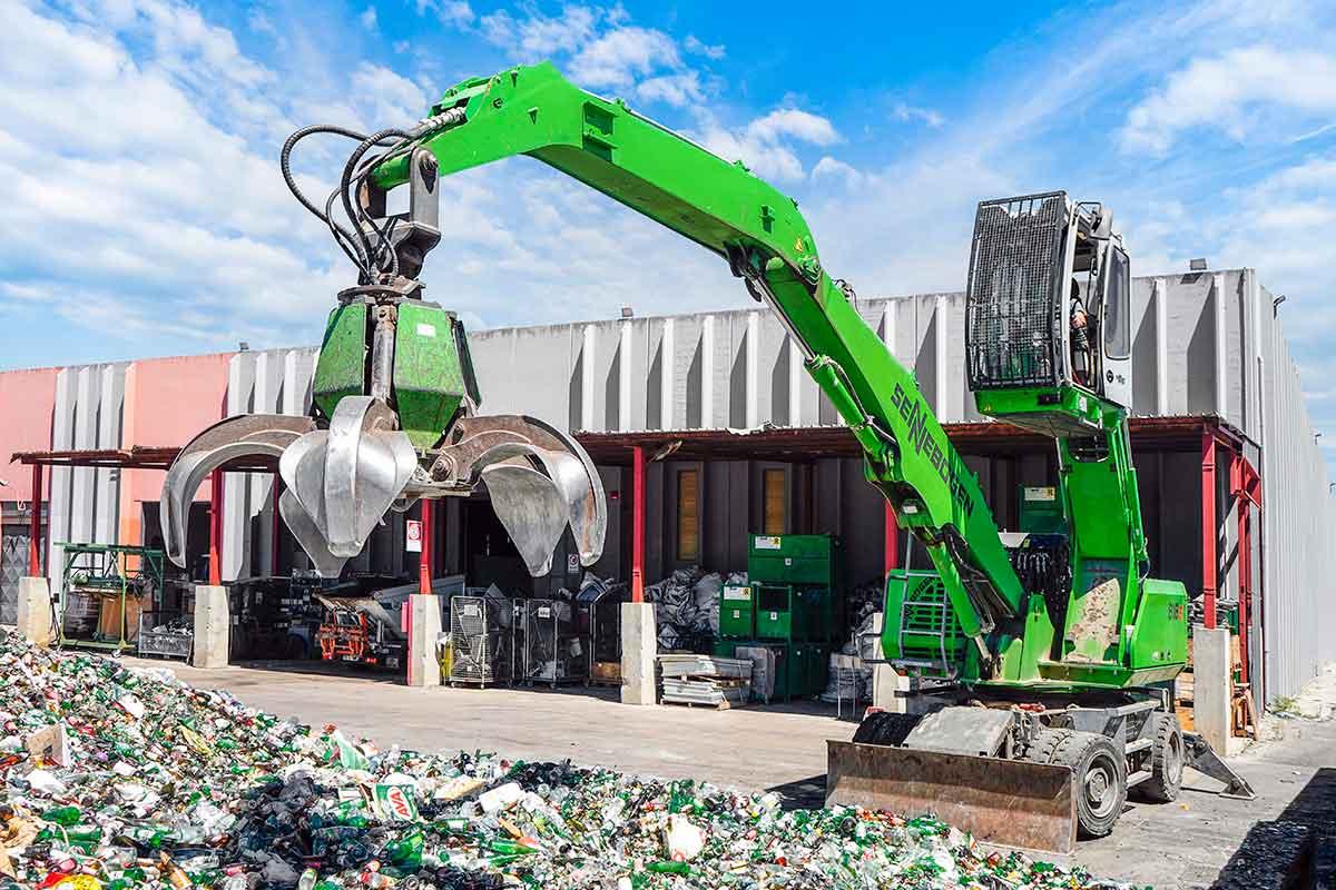 piattaforma ecologica per il trattamento dei rifiuti