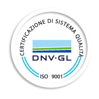 icona certificazione sistema sicurezza ISO 9001:2015