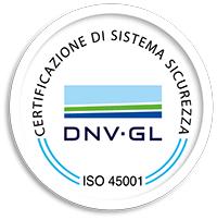 icona certificazione sistema sicurezza ISO 45001:2018